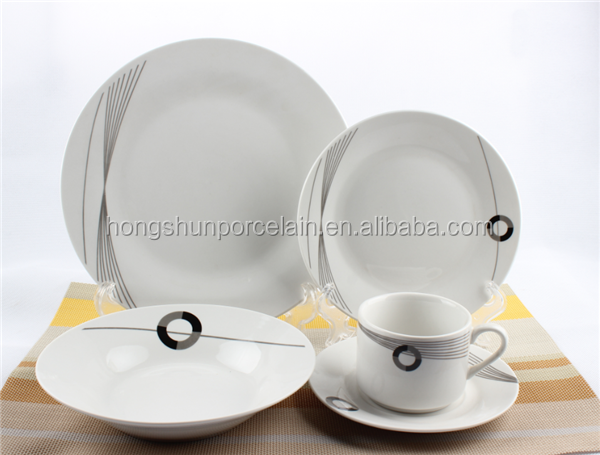 porcelain ware dinner set / dinnerware set tableware set plates tea pot
