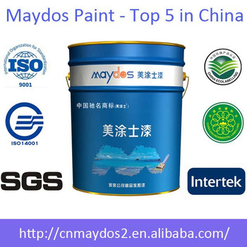 Maydos Zero VOC Star 5 In 1 Acrylic Resin Interior Silk Plaster Wall Paint
