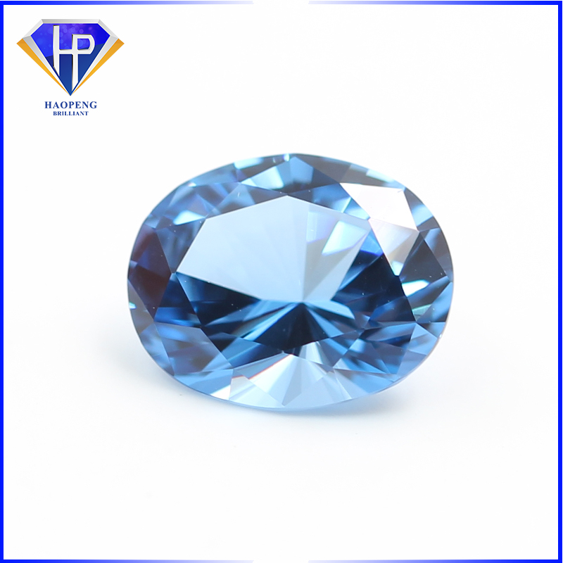 Lab Created Zircon Blue Spinel AAA 1mm - 16mm Round Brilliant Loose Gemstone