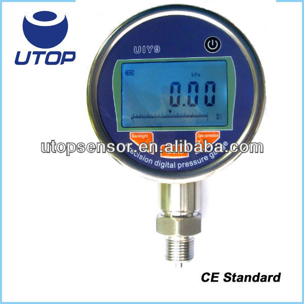 UIY9 vacuum engine oil water test pressure gauge