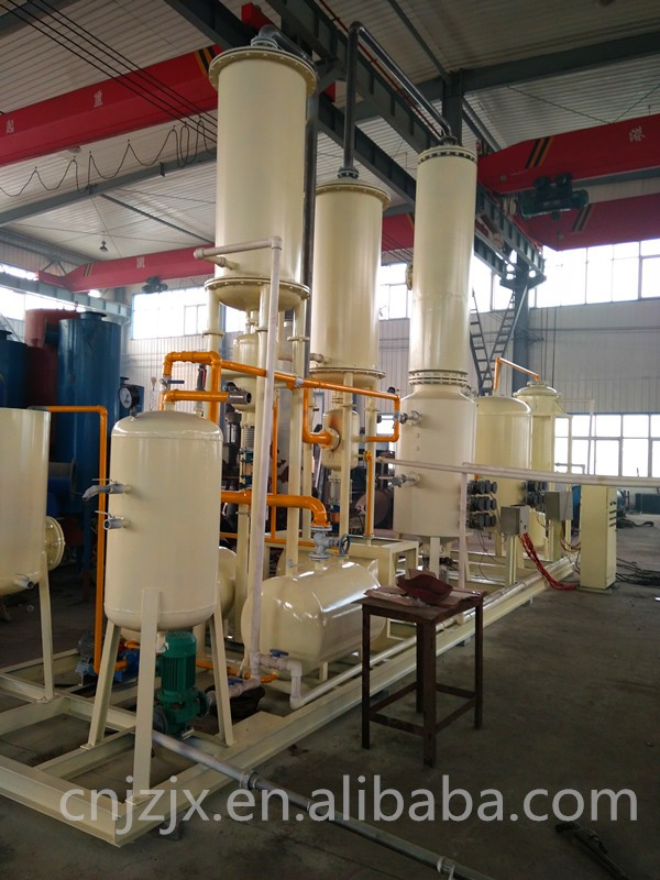 Pyrolysis tyre oil to diesel distillation plant from China