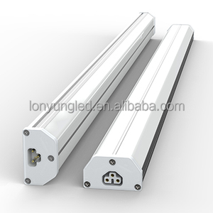 DLC SAA TUV listed integrative led tube 2ft-8ft 4foot 1200mm/2400MM 20-60W T5 led integrated double tube8 japanese zoo tube