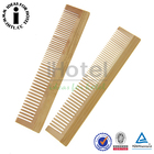 Natural Bamboo Comb Handmade Disposable Hotel Wooden Comb