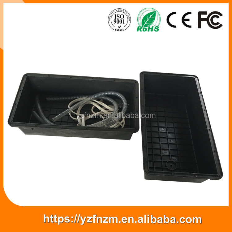 ABS outdoor waterproof 200ah battery box low price from China