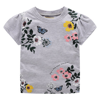 2019 boutique sleeveless print kids clothing baby clothes baby girl shirts