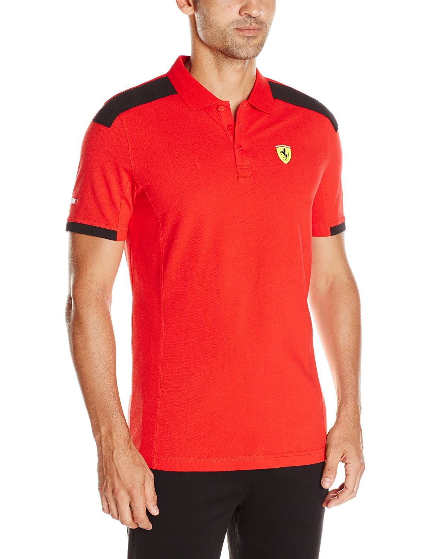 PUMA Mens Scuderia Ferrari Polo
