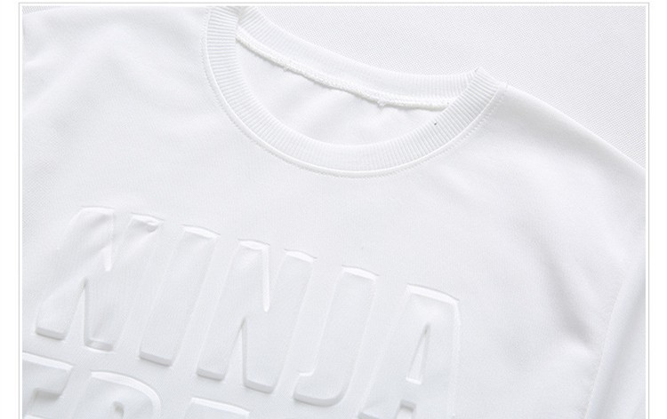 4e8062a42a Fashion Pure Color 3d Embossed Shirt Embossed Printing T Shirt - Buy ...