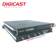 (DMB-9582) Digicast MPEG-2/H.264 HD Isdb-t DVB-S2 Encoder Modulatore Per DSNG OB VAN SET UP Stazione <span class=keywords><strong>TV</strong></span> Media e Broadcasting
