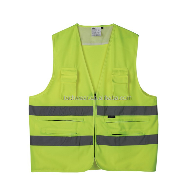 Cotton motorcycle walking reflective vest