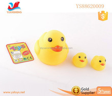Floating Duck Bath Toys With Sound Funny Rubber Toy For Kids Bulk Rubber Duck