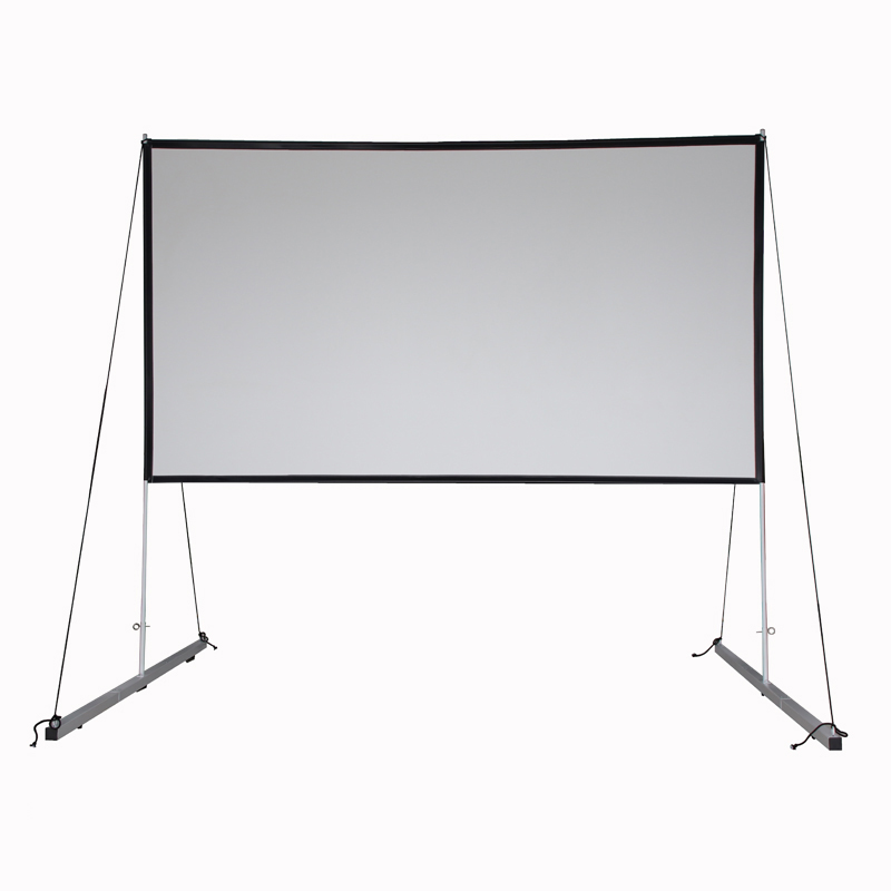 120 inch 16:9 <strong>Portable</strong> outdoor Projection <strong>Screen</strong> Matte white simple fast folding Projector <strong>Screen</strong>