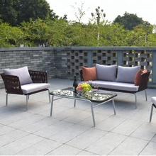New style outdoor chair rope garden furniture outdoor sofa sets