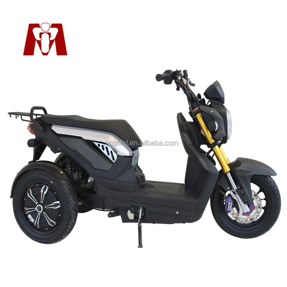 2017 New electric motorcycle ,electric tricycle with active roll stabilisation and 2*1000W wheel Hub Motor