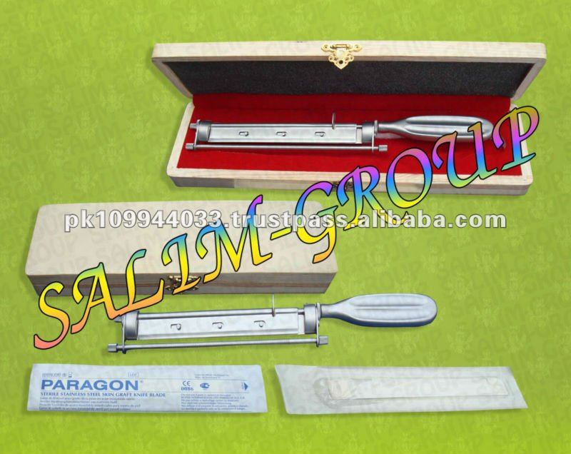 Humby Skin Grafting Knife With Blade Surgical Orthopedic Instruments