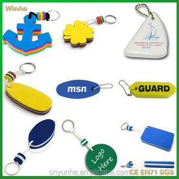 Personalized Eva Foam Floating Keychain For Boats Product On Alibaba