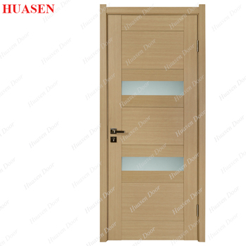 Solid Board Frosted Glass Bedroom Door Design Buy Solid Board Door