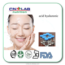 Qualified Cosmetic and Food grade skin/joint moisture Sodium Hyaluronate/hyaluronic acid