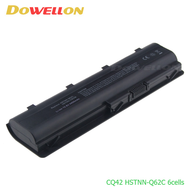 6 cells 18650 Li-ion High quality Replacement Laptop battery for HP Presario CQ42 CQ43 CQ56 CQ62 HSTNN-Q62C