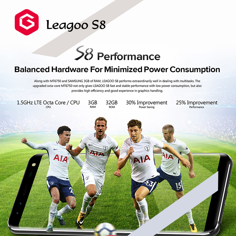 Best Rated 4 Cameras Android 7 0 Smartphone Leagoo S8 5 72 Inch 18:9  Display Mtk6750t Octa Core 3gb+32gb Fingerprint 4g Mobile - Buy Best  Android