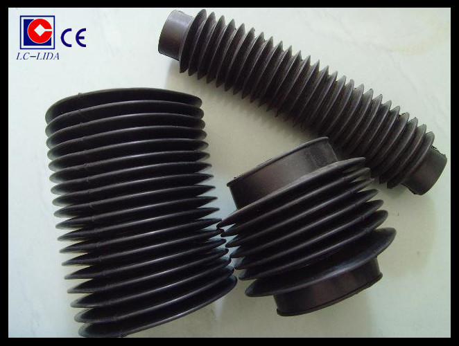 Cylinder type thread rod protective bellow covers buy