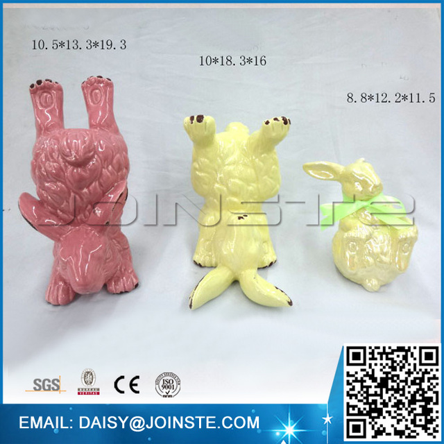 Buy cheap china ceramic easter gift products find china ceramic ceramic rabbit gifts easter decoration child negle Image collections