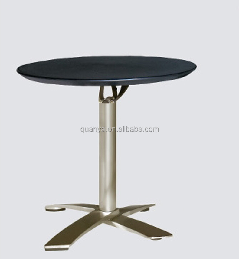 moderne dia 80 cm table ronde bar pli abs top bar tables avec base daluminium buy pli abs table de barbar tables avec base en aluminiumbarres rondes - Table Ronde Bar