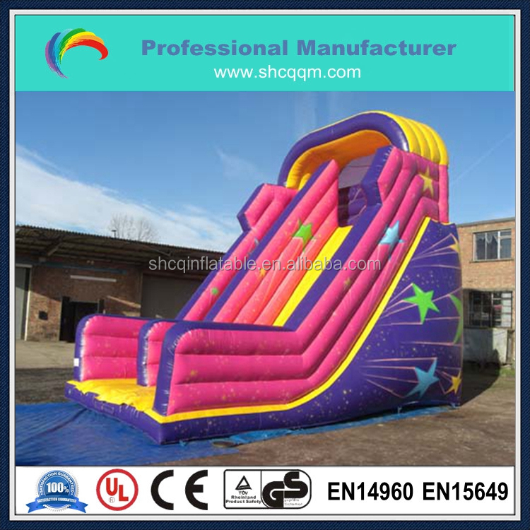 commercial inflatable star slide for kids