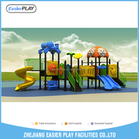 Playstation Games Kids Play Area Outdoor Plastic Playground Set