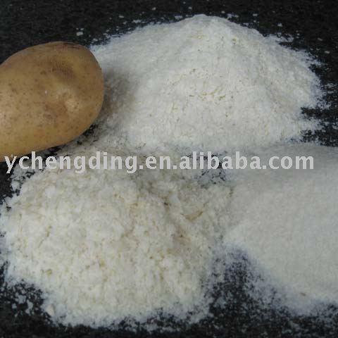 Mashed White Potato Flakes For Potato Chips And Snack