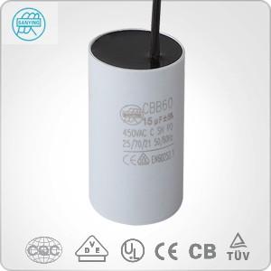 Sanying Cbb60 Capacitor 20uf 250vac Run Capacitor For
