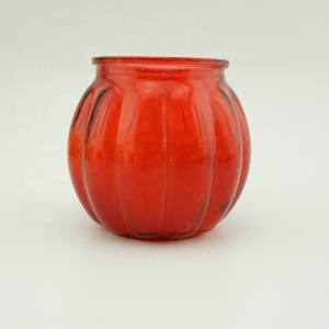 Customized Glass Victorian Jar Candle/Bougie Factory from China