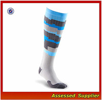 WH-65 new 2017 wholesale soccer socks cycling socks knee high running custom sport compression socks for men women