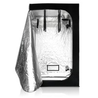 Sunshine garden hydroponics indoor mushroom grow tent room 4 plant mylar reflective grow tent for wholesale
