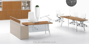 Danish Furniture Small Student Table/Office Traditional Desk(FOH-OBB1814)