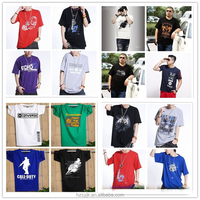 Cheap t-shirt hot basic t-shirt fat man shirt 6xl 2018 Men's T-Shirt Tee Shirt Tight Tops 3D Printed Blank Short Sleeve Gym