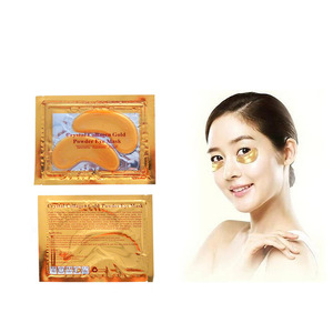 24k Gold Energizing Eye Recovery Mask for Removing Wrinkle and Dark Circle