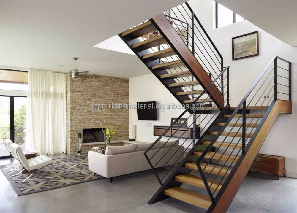 Int rieur moderne en fer forg escalier en colima on en - Escalier moderne prix ...