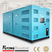 1000kva power standby silent types commutator motor 1000kva power plant for sale