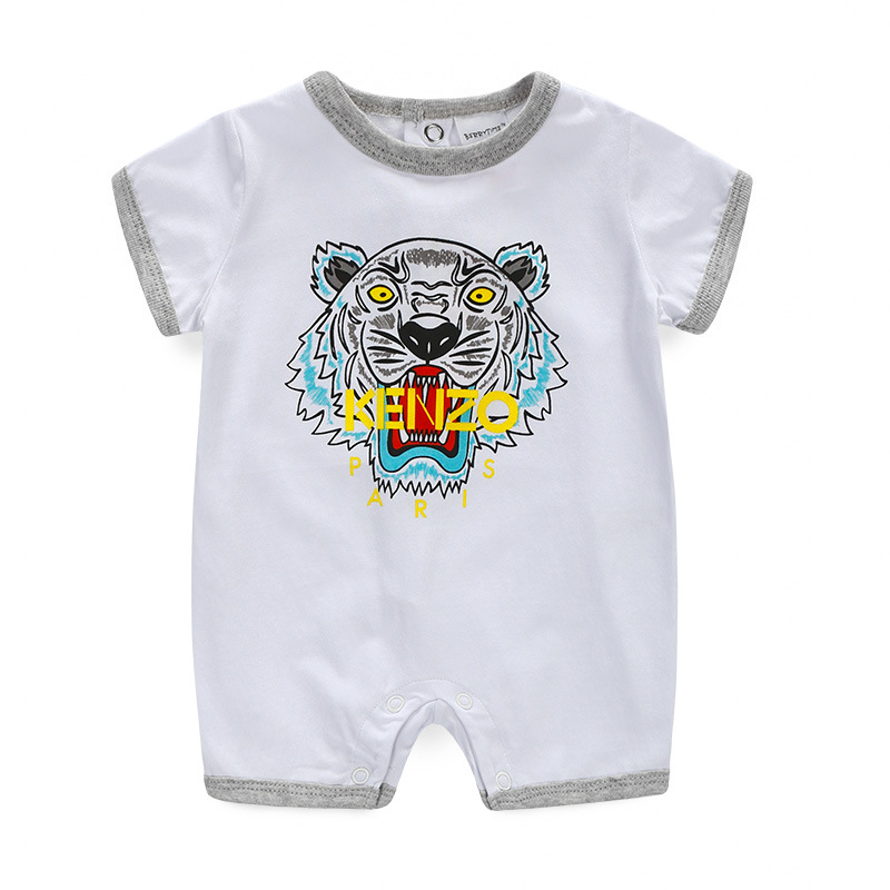2016 summer new 0-18M baby romper boy girl clothes onepiece jumpsuit brand costume toddler suit infant clothing bebes tiger