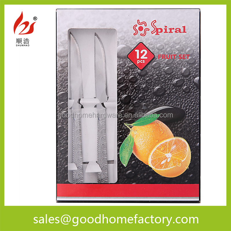 Kitchen essential fruit knife stainless steel vegetable knife