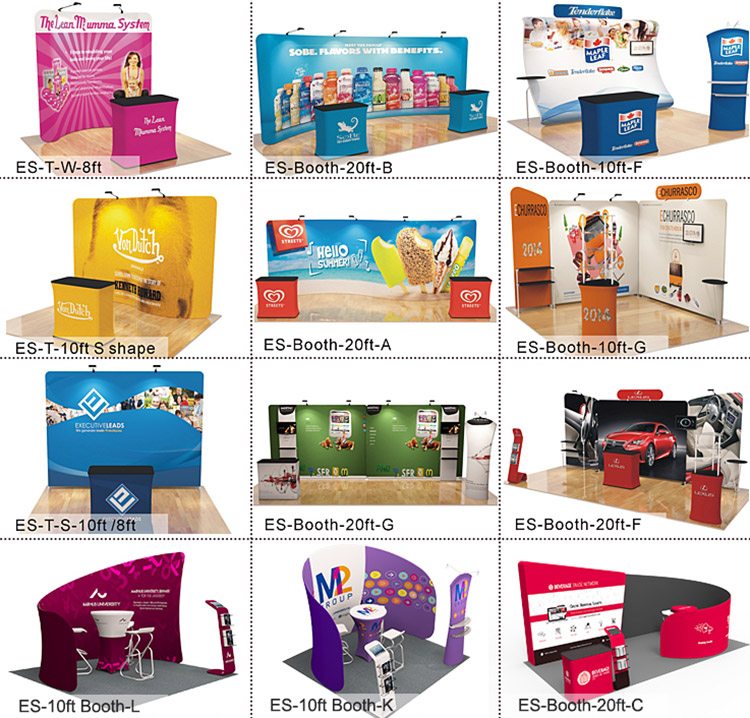 Fashion polyester printing display fair easily set up aluminum pole booth,  View aluminum pole booth, Eastern Signs Product Details from Jiangmen