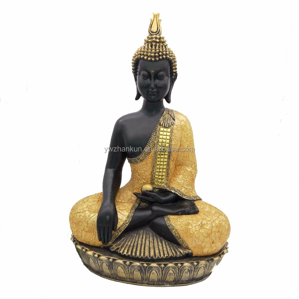 Resin handcraved religious Buddha ornament