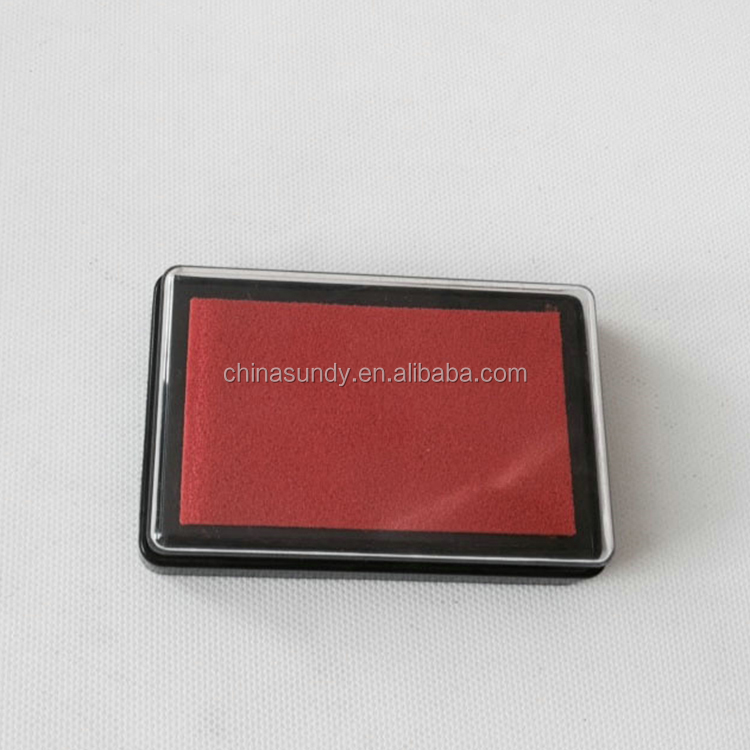Modern high-grade craft oil based finger print stamp pad with low price
