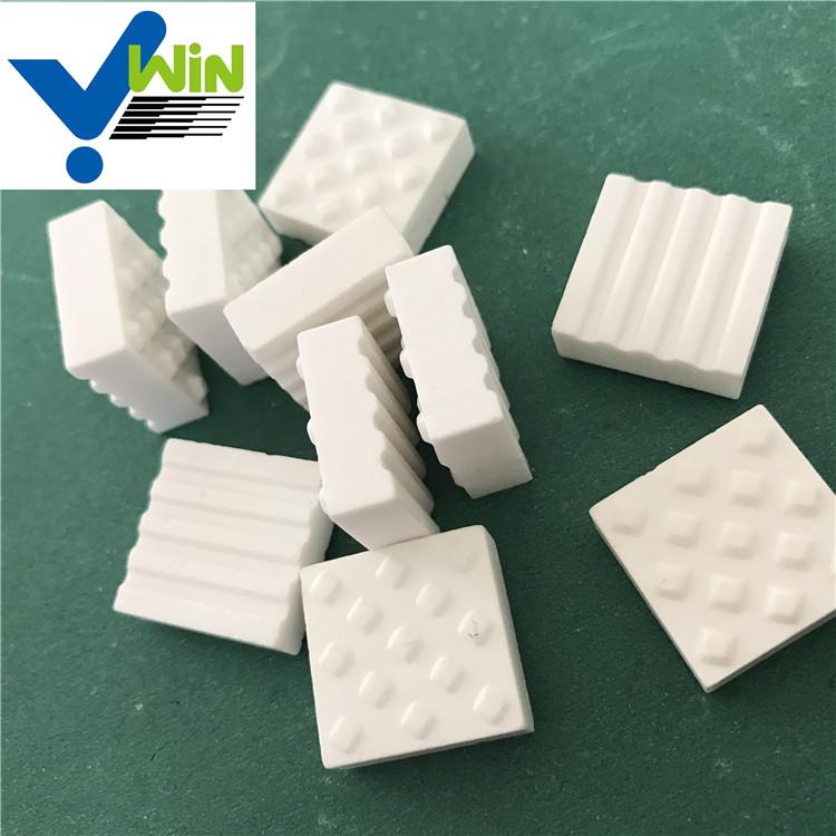 92% High-Performance white alumina mosaic tile industrial ceramic