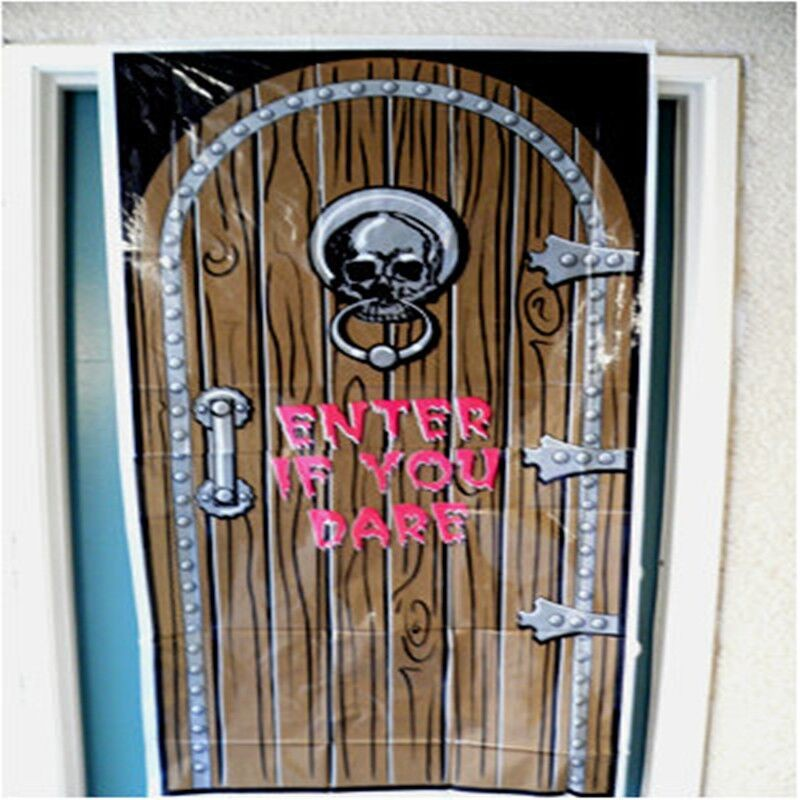 Wholesale happy Halloween poster Scene Setter Kit party supplies door cover