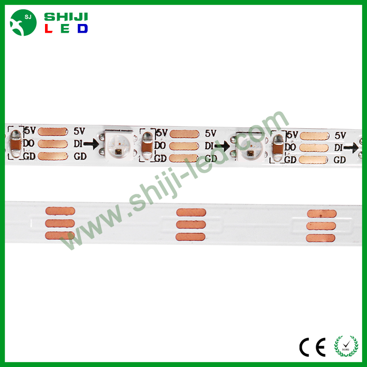 Flexible sk6812 30leds 5mm rgb ws2812b led strip light