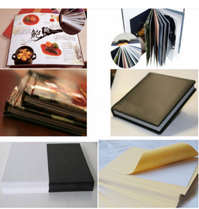 High quality wholesaled self adhesive photo album pvc sheets for photo album