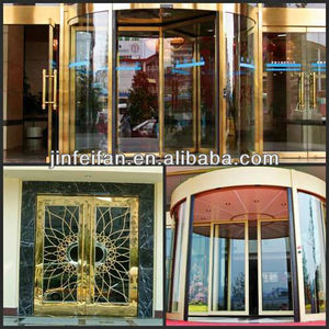 201,304 High Quality Coloured Stainless Steel Products for Revolving DoorsDecoration