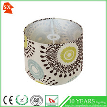 faux silk fabric lanterns banker drum tables wicker dome lamp shade
