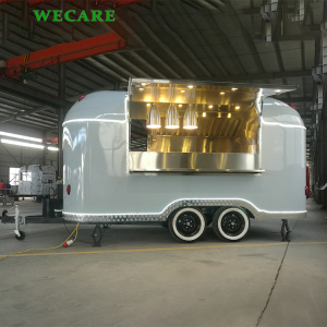 Best quality mobile ice cream trailers churros food trailer